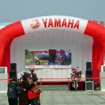 Balon Gate Tenda Yamaha