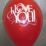 Balon Latex I Love You