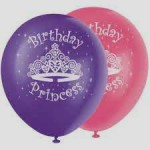 Balon Latex Birthday Princes
