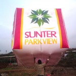 Balon Udara SUnter Park View
