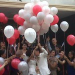 Balon Gas Pelepasan Wedding