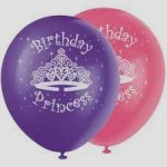 Balon Printing Birthday Princess