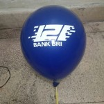 Balon Printing Bank BRI